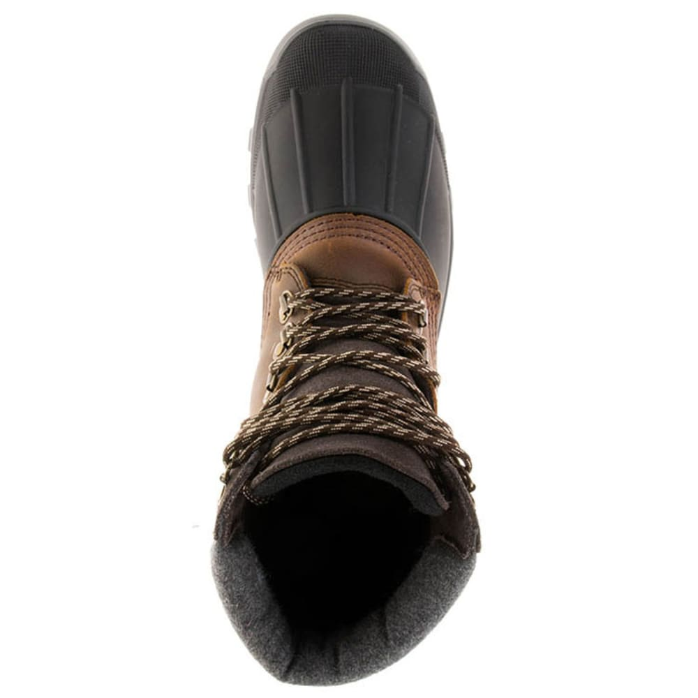 KAMIK Men's Hudson5 Waterproof Insulated Storm Boots - DARK BROWN