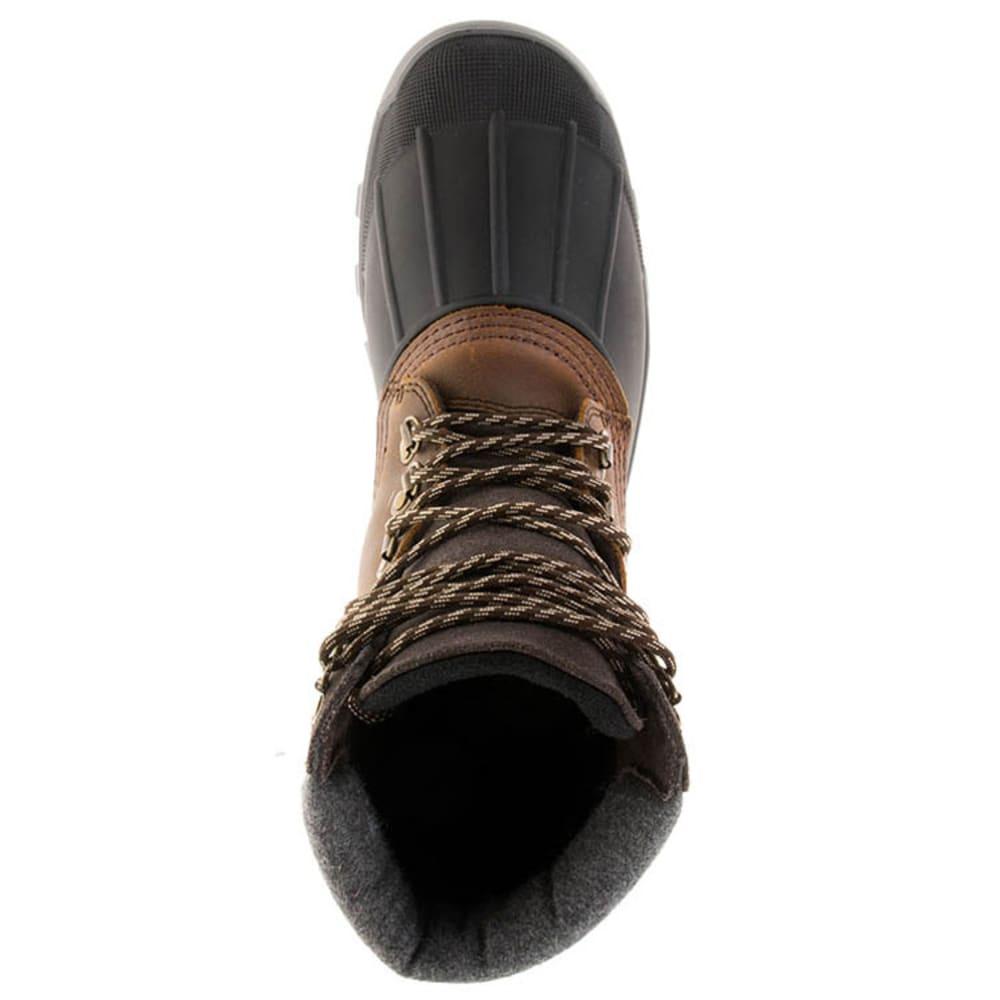 KAMIK Men's Hudson5 Waterproof Insulated Storm Boots - DARK BROWN