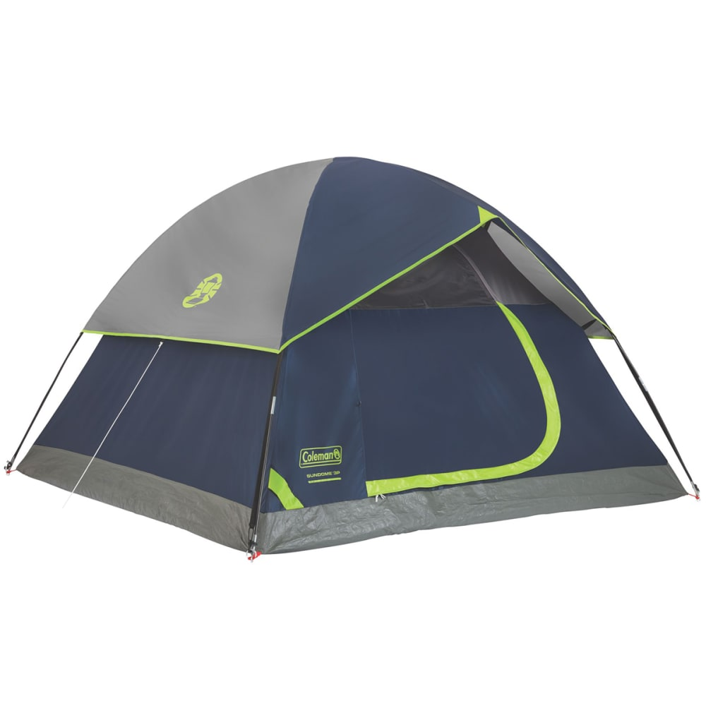COLEMAN Sundome 3-Person Dome Tent - NAVY