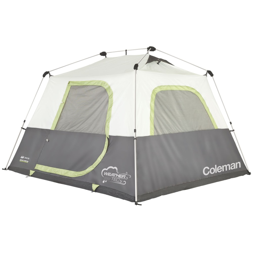 COLEMAN Instant 6P Tent - WHITE/GREY