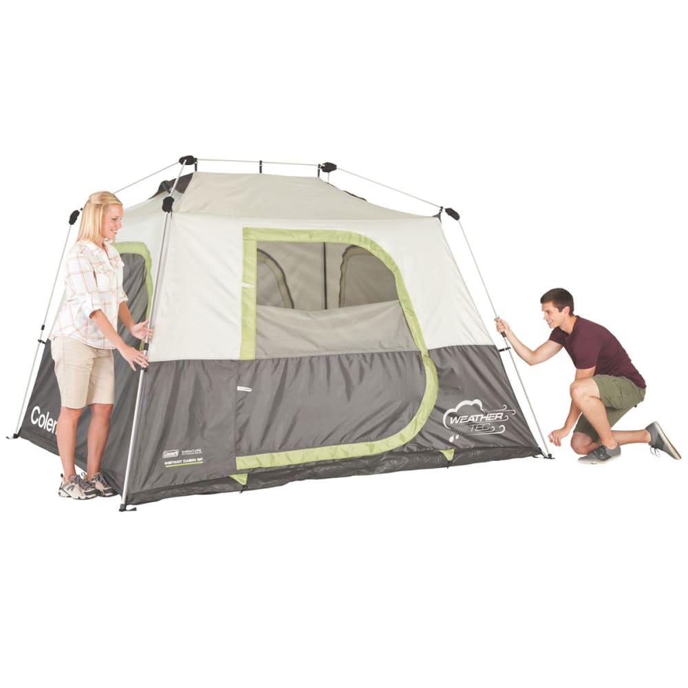 COLEMAN Instant 6P Tent - WHITE/GREY