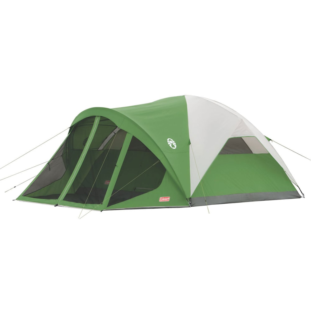 COLEMAN Evanston Screened 6-Person Tent - GREEN
