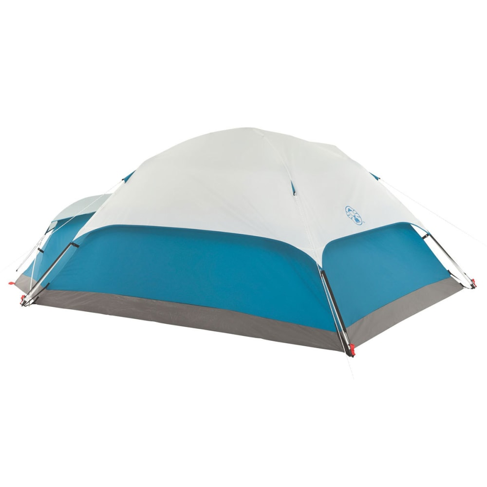 COLEMAN Juniper Lake 4-Person Instant Dome Tent with Annex - BLUE