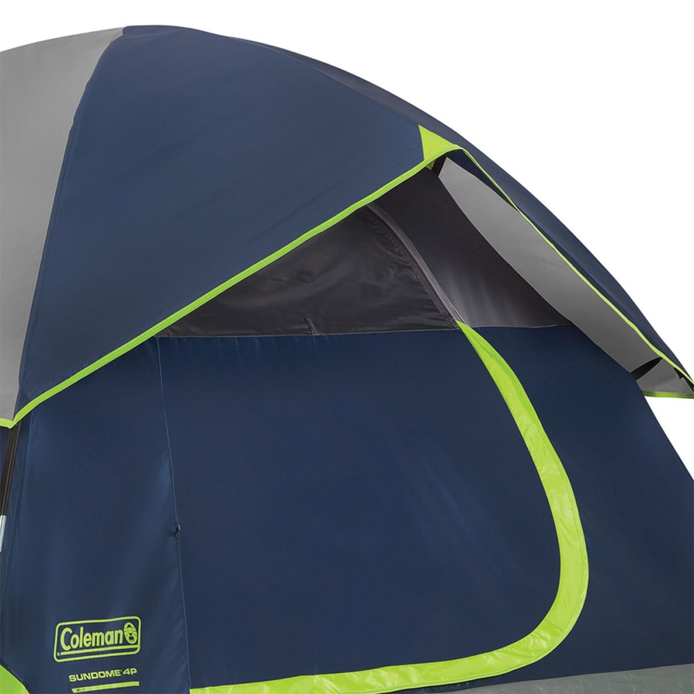 COLEMAN Sundome 4-Person Dome Tent - NAVY