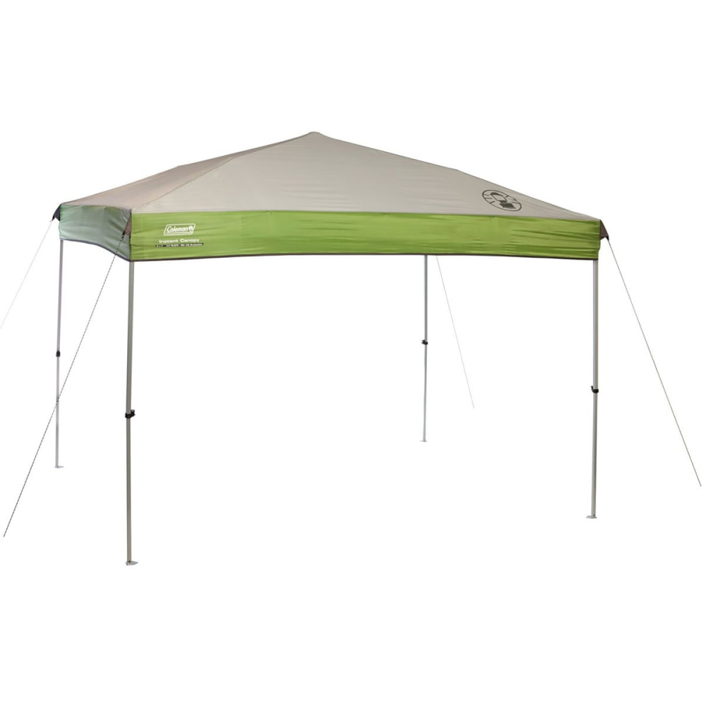 COLEMAN 9x7 Instant Canopy - WHITE/GREEN