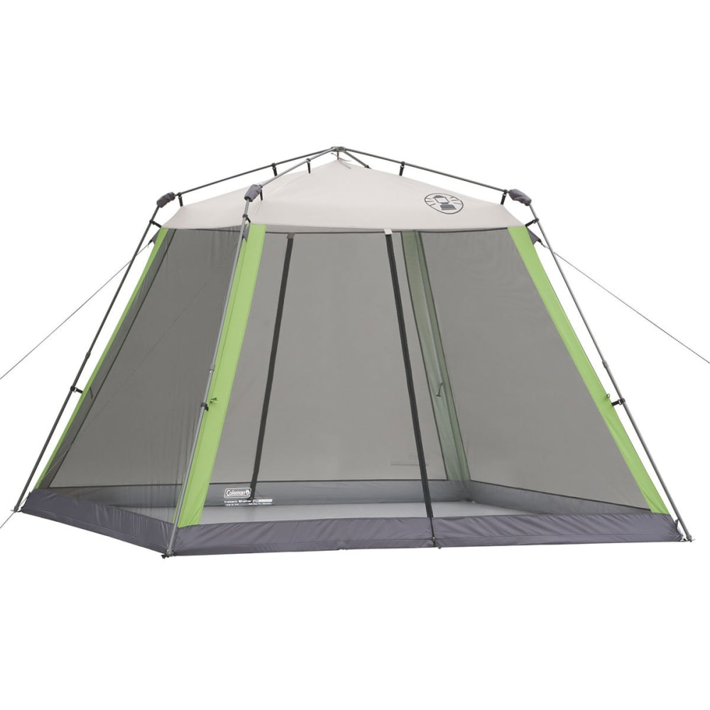 COLEMAN 10 x 10 Instant Screenhouse - WHITE/GREEN