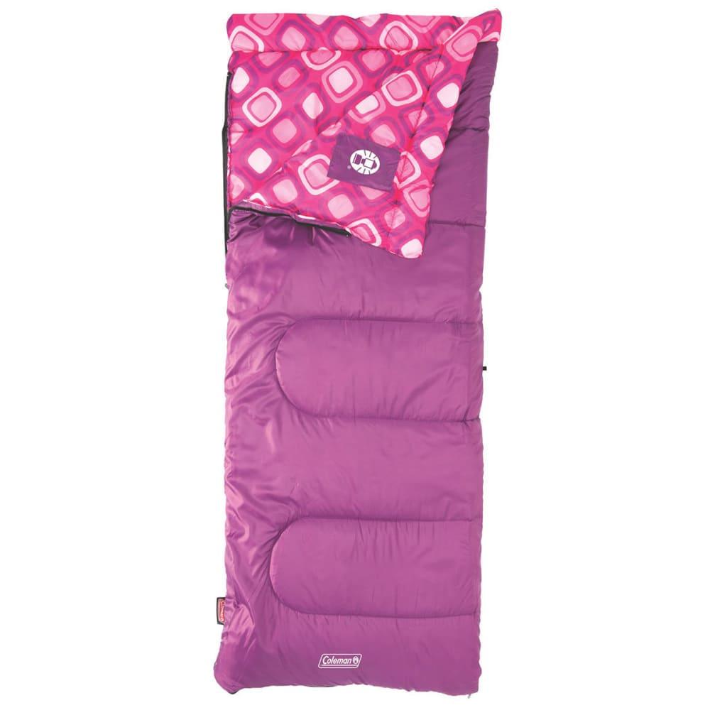 COLEMAN Girls' Plum Fun 45 Sleeping Bag - FUSHIA