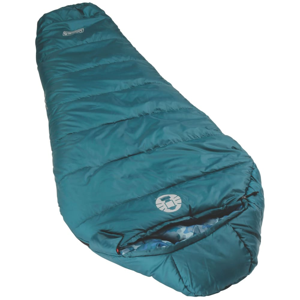 COLEMAN Kids' Blue Bandit 30 Sleeping Bag - BLUE