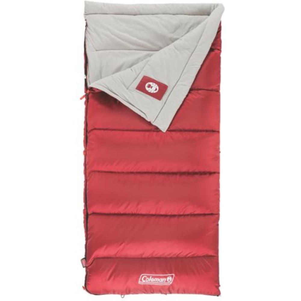 COLEMAN Autumn Glen 50 Sleeping Bag, Regular - RED