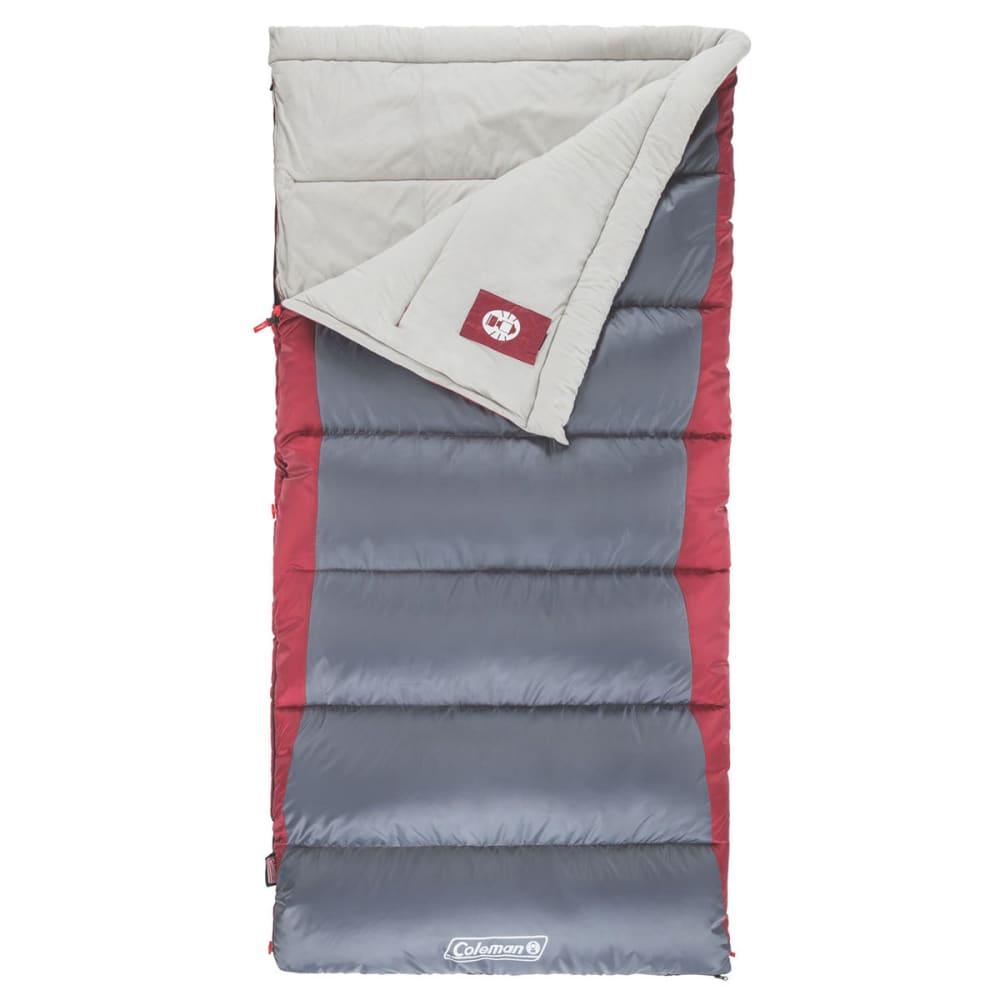 COLEMAN Autumn Glen 50 Sleeping Bag, Big & Tall - DARK GREY