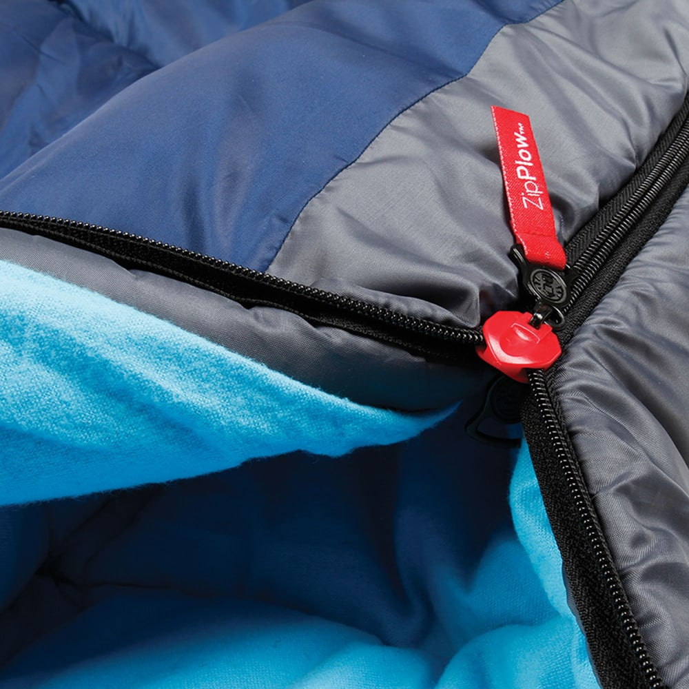 COLEMAN Dexter Point 50 Sleeping Bag, Regular - GREY
