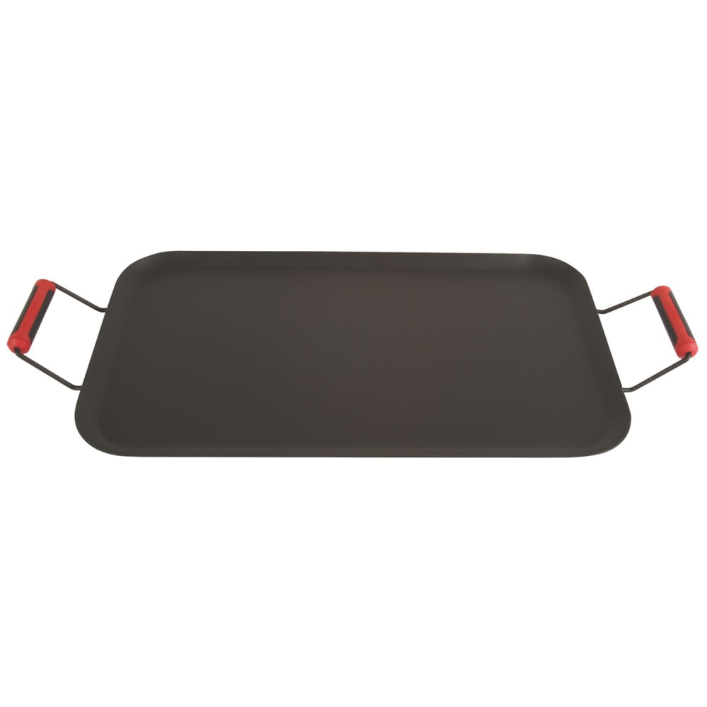 COLEMAN Rugged Non-Stick Steel Griddle - BLACK