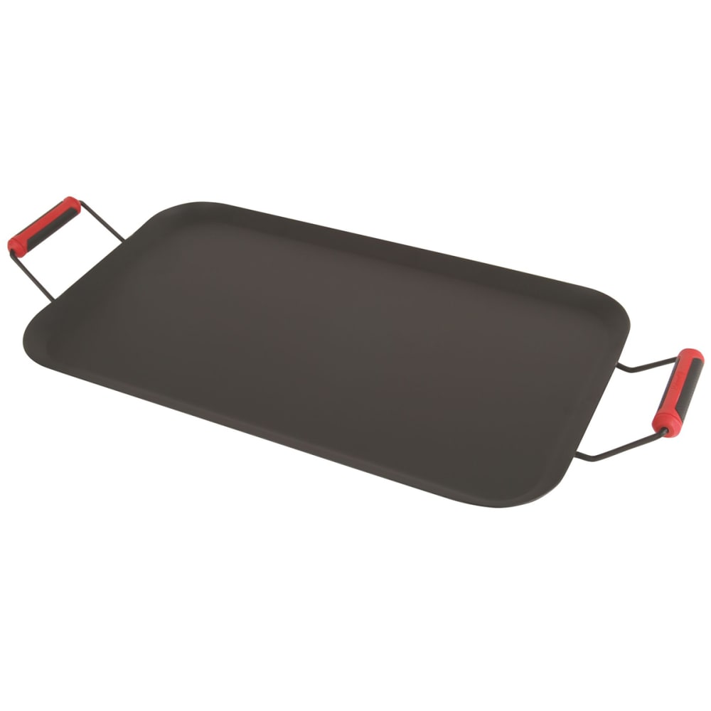 COLEMAN Rugged Non-Stick Steel Griddle - BLACK