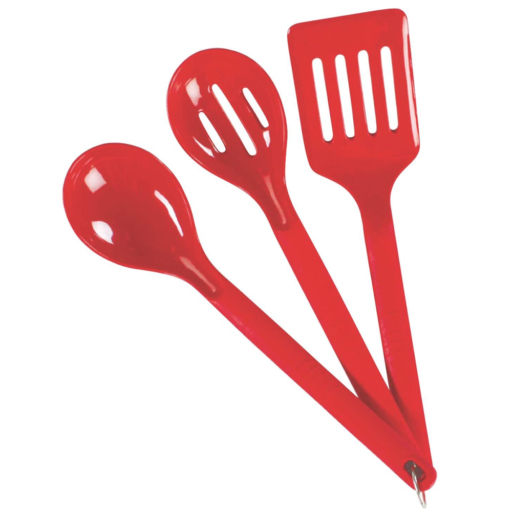 COLEMAN 3-Piece Nylon Serving Set - RED