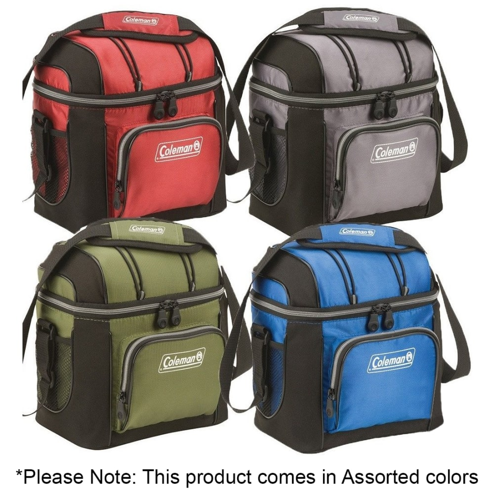 COLEMAN 9-Can Soft Cooler - ASSORTED