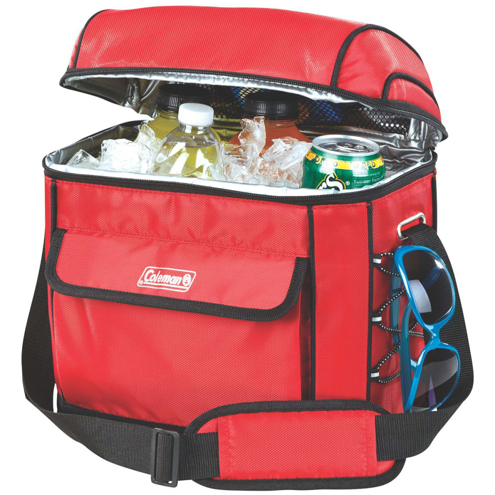 COLEMAN 16-Can Removable Liner Cooler - RED