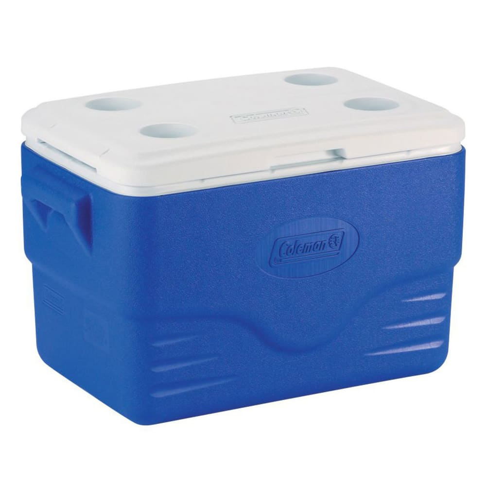 COLEMAN 36 Quart Performance Cooler - BLUE