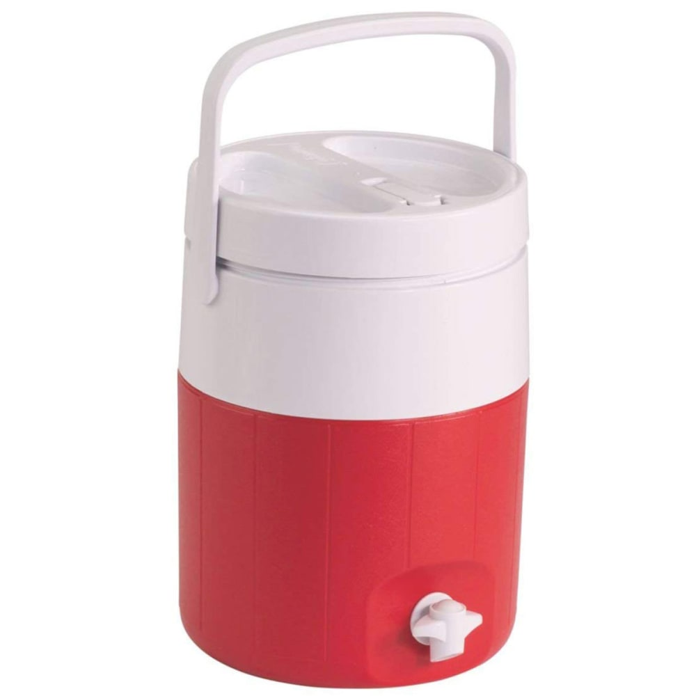COLEMAN 2-Gallon Beverage Cooler - RED