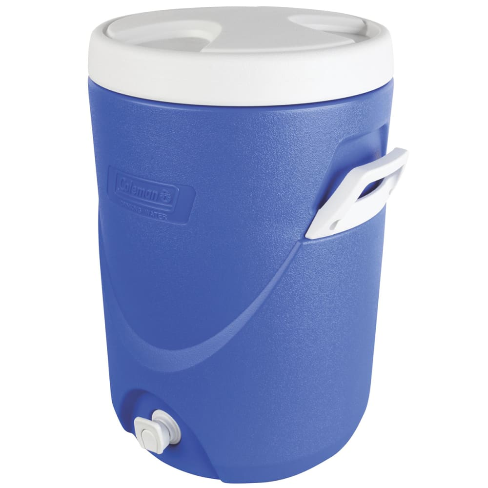 COLEMAN 5-Gallon Beverage Cooler - BLUE
