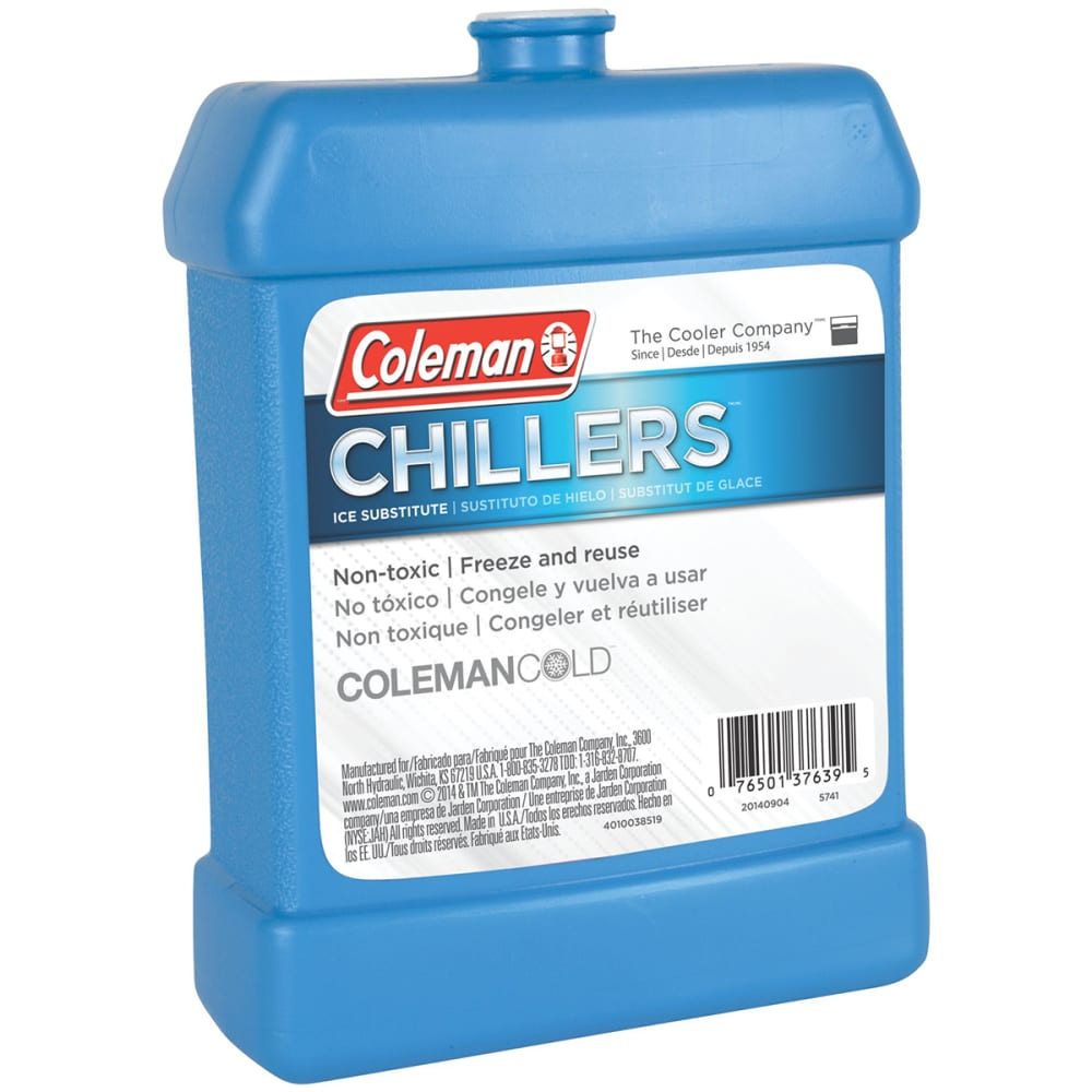 COLEMAN Chillers Hard Ice Substitute, Large - NO COLOR