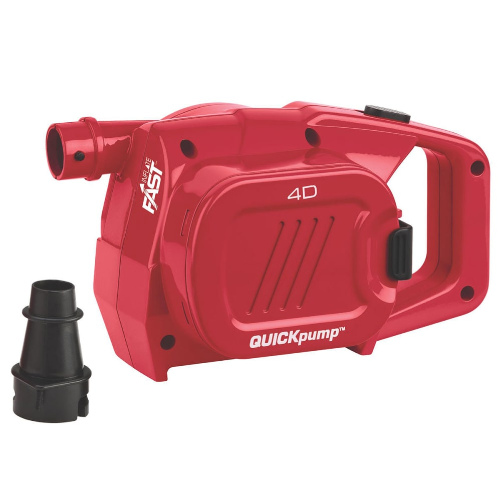 COLEMAN Quickpump 4D Airbed Pump - RED