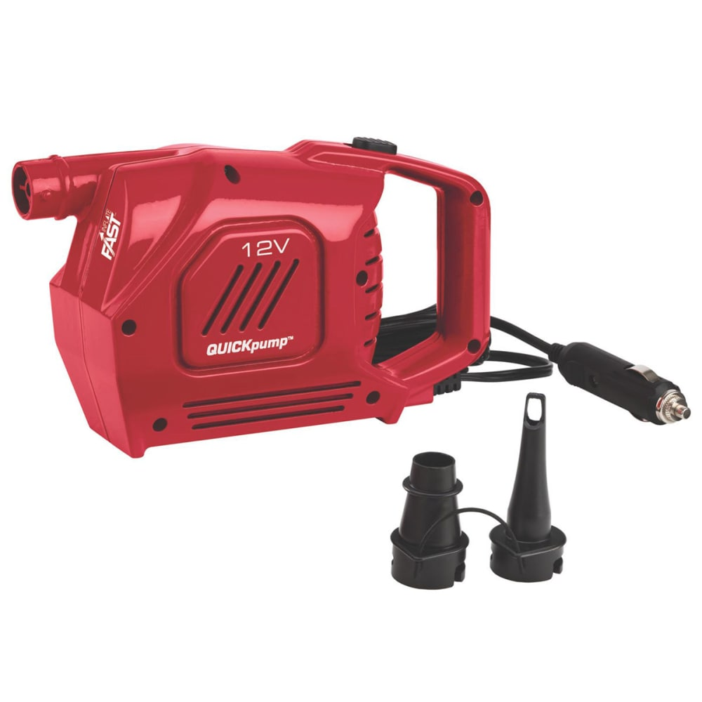 COLEMAN QuickPump 12V Airbed Pump - RED