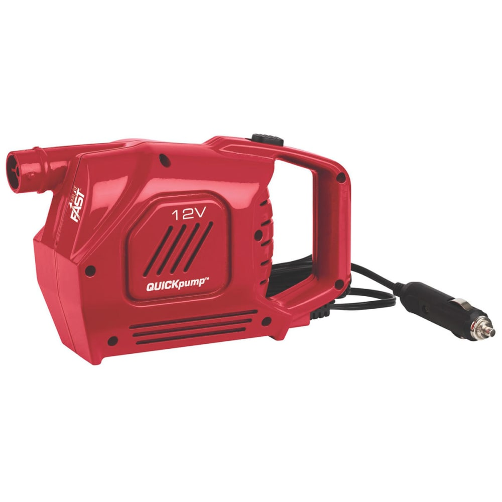 COLEMAN QuickPump 12V Airbed Pump - RED