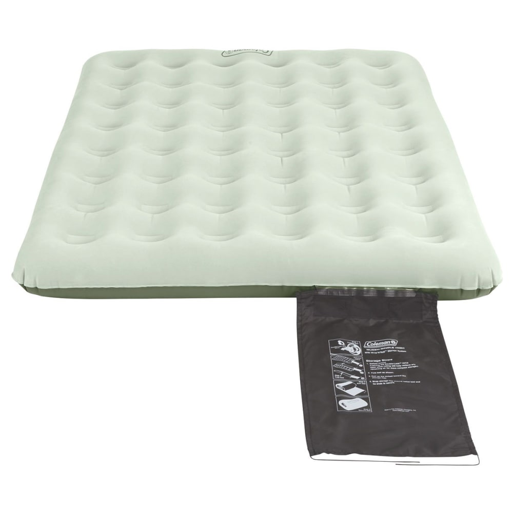 COLEMAN EasyStay Lite Single High Airbed, Queen - WHITE