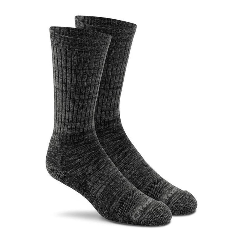 FOX RIVER Men's Jasper Crew Socks - 07000-BLACK