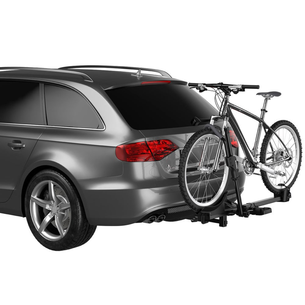 THULE T1 Single Platform Carrier Hitch Bike Rack, Black - BLACK