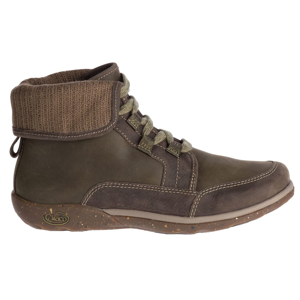 CHACO Women's Barbary Waterproof Fold-Down Storm Boots - IVY
