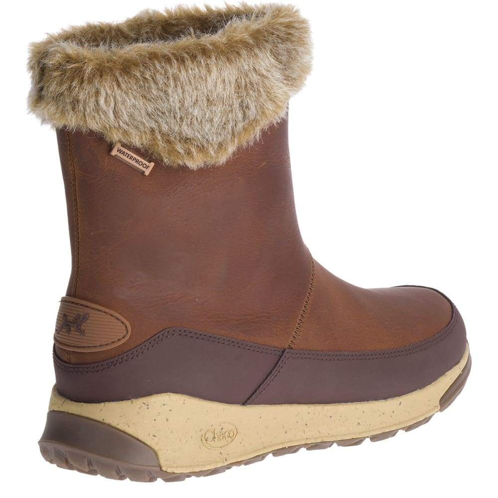 CHACO Women's Borealis Mid Waterproof Insulated Storm Boots - SPICE