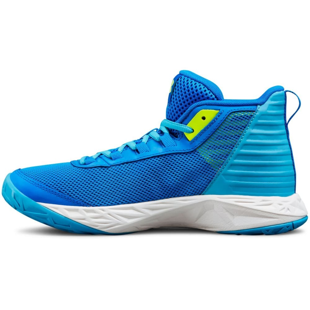 2819552c47c UNDER ARMOUR Big Girls  39  Grade School Jet 2018 Basketball Shoes - BLUE  CIRCUT