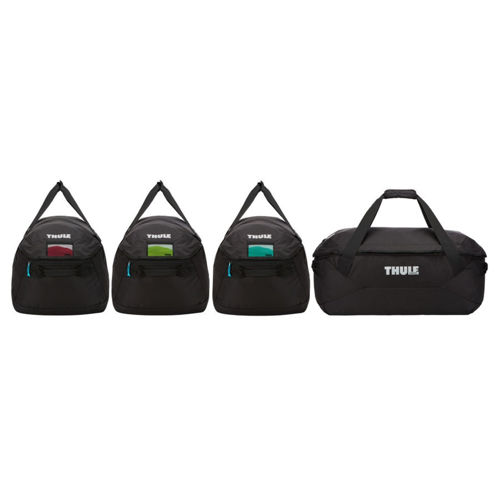 THULE GoPack 4-Pack Duffel Bag Set, Black - BLACK