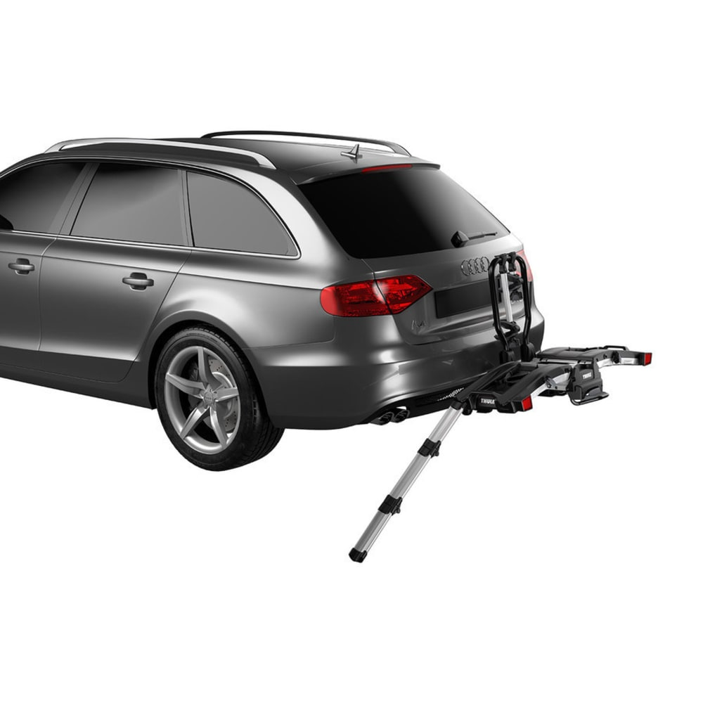 THULE EasyFold XT 2 Hitch Bike Rack - BLACK/SILVER