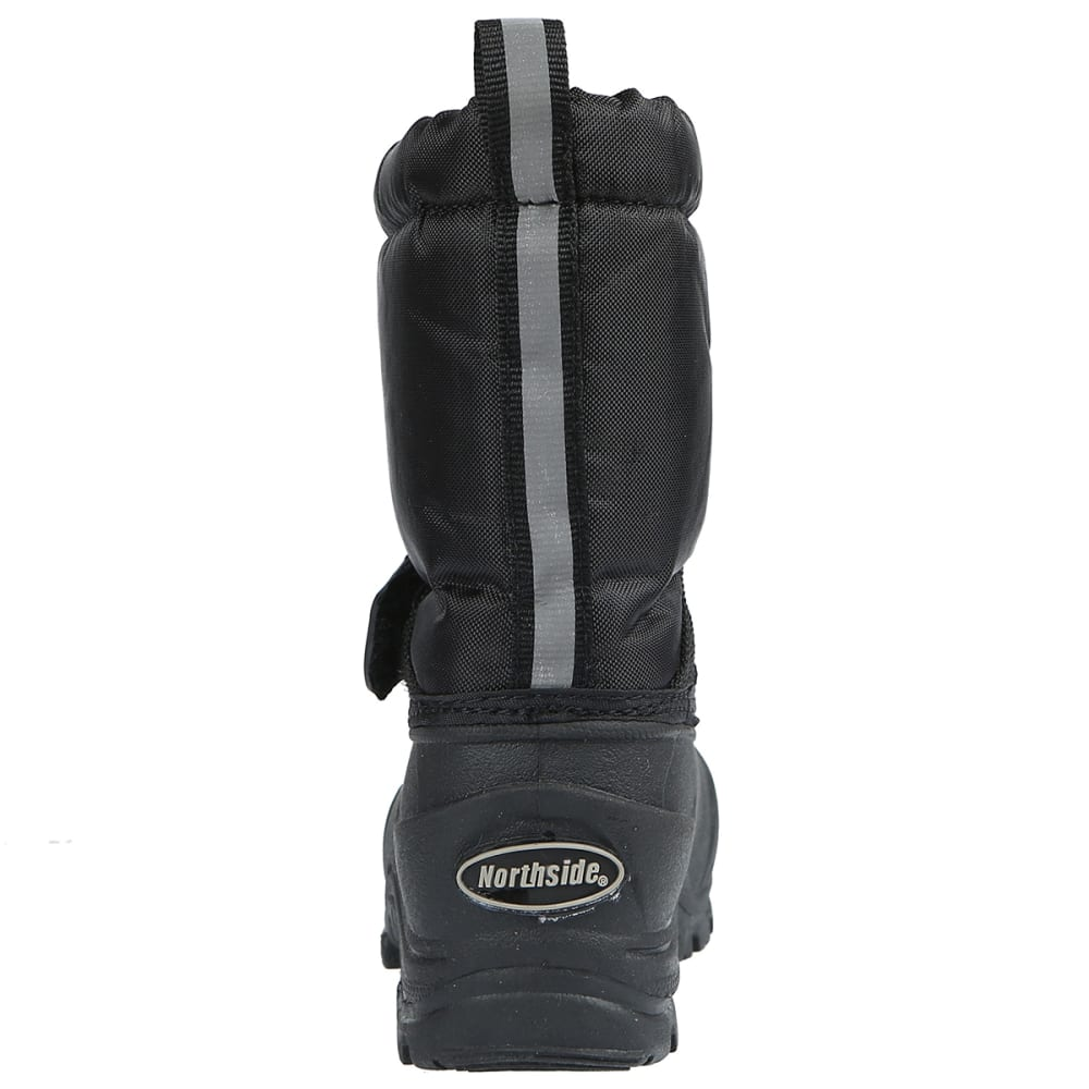 NORTHSIDE Boys' Frosty Waterproof Insulated Storm Boots - BLACK-001