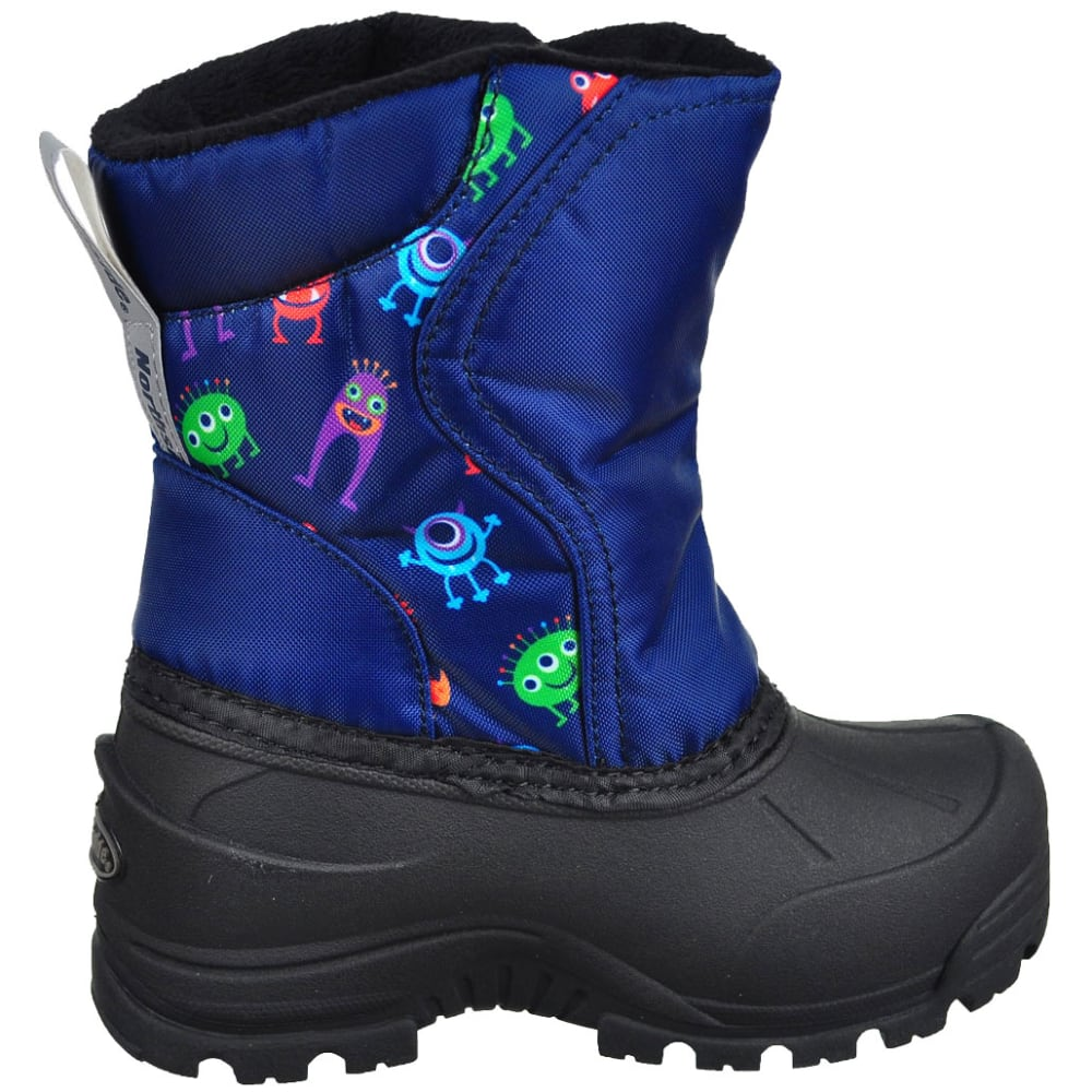 NORTHSIDE Toddler Boys' Flurrie Insulated Waterproof Storm Boots - NVY/MULTI-415