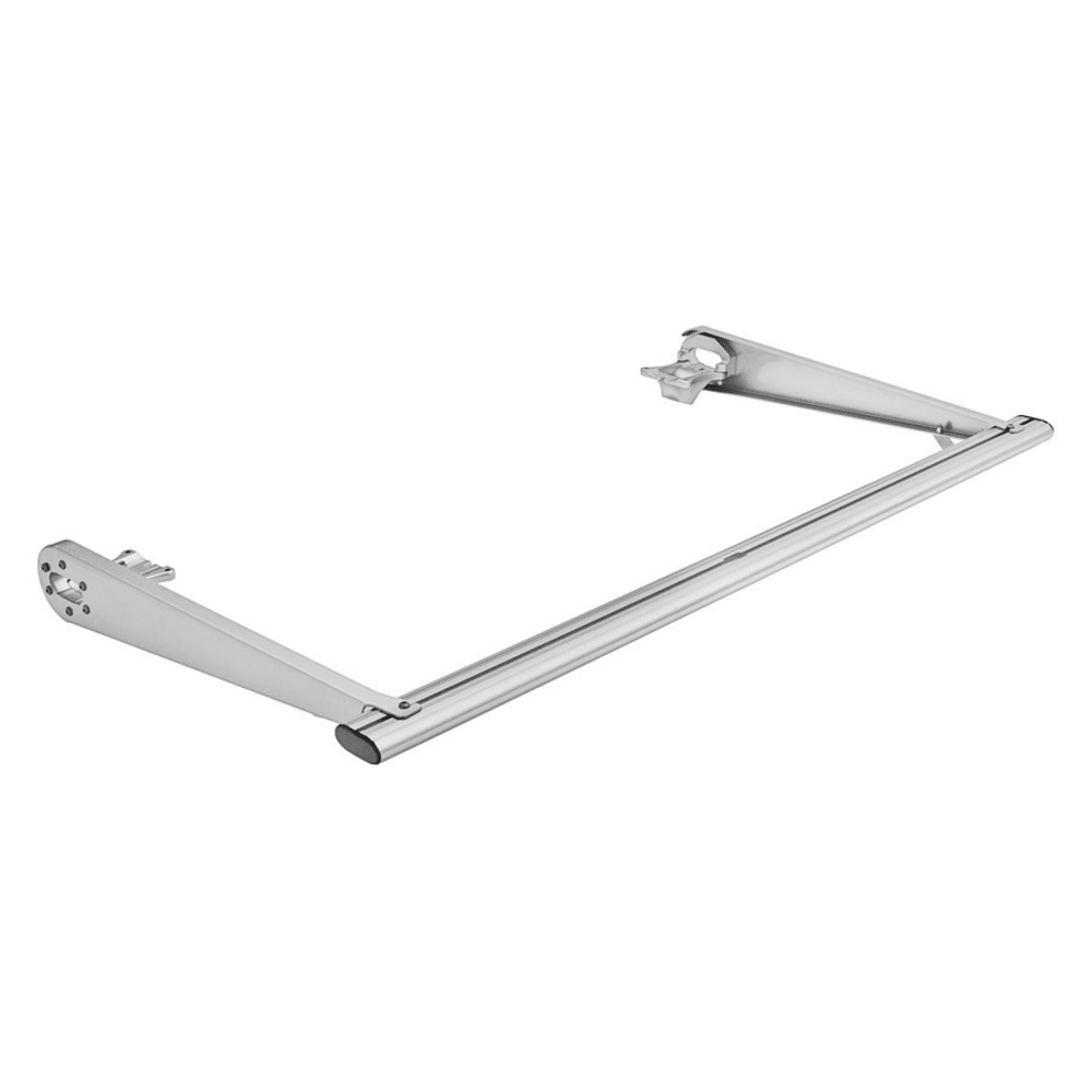 THULE TracRac Cantilever Compact Roof Rack Extension, Silver - SILVER