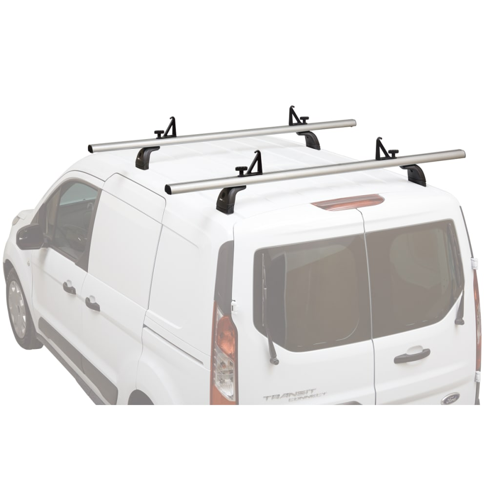 THULE TracRac Van ES Rack - Chevrolet City Express '15-, Nissan NV200 '13- - SILVER