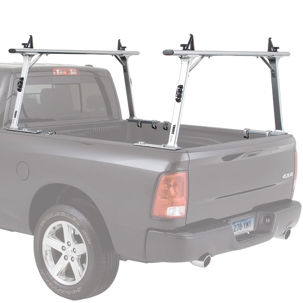 THULE TracRac Pro 2 Toyota Tacoma, 16- Truck Rack - SILVER