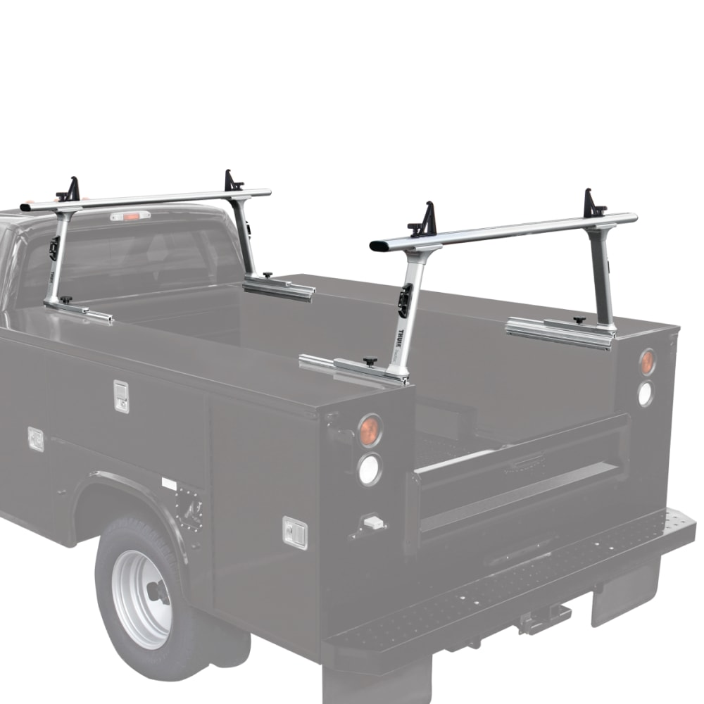THULE TracRac Utility Rack, Short - SILVER