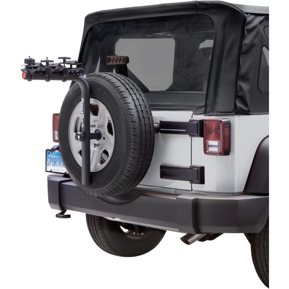SPORTRACK Pathway Spare Tire Deluxe 3 Carrier - BLACK