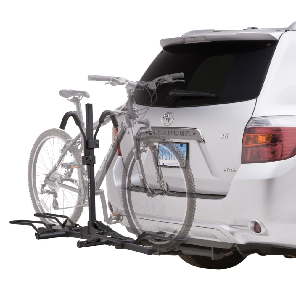 THULE Crest 2 Non-Locking Bike Rack - BLACK