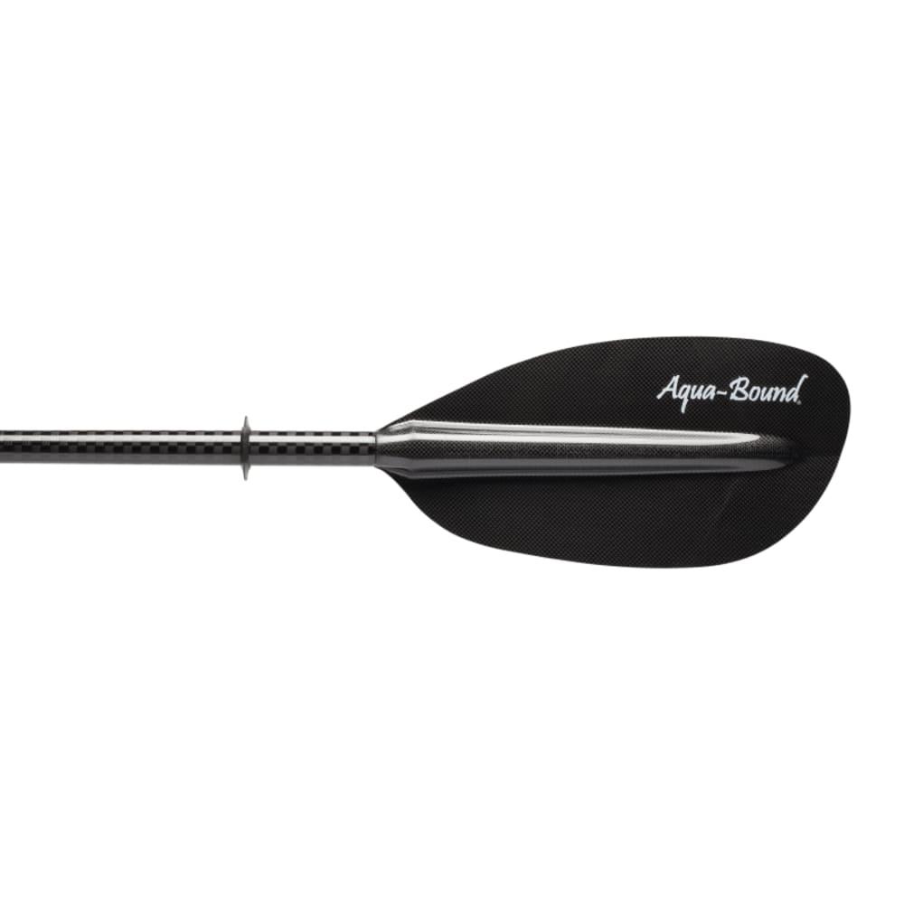 AQUA-BOUND Whiskey Carbon 2-Piece Kayak Paddle - BLACK