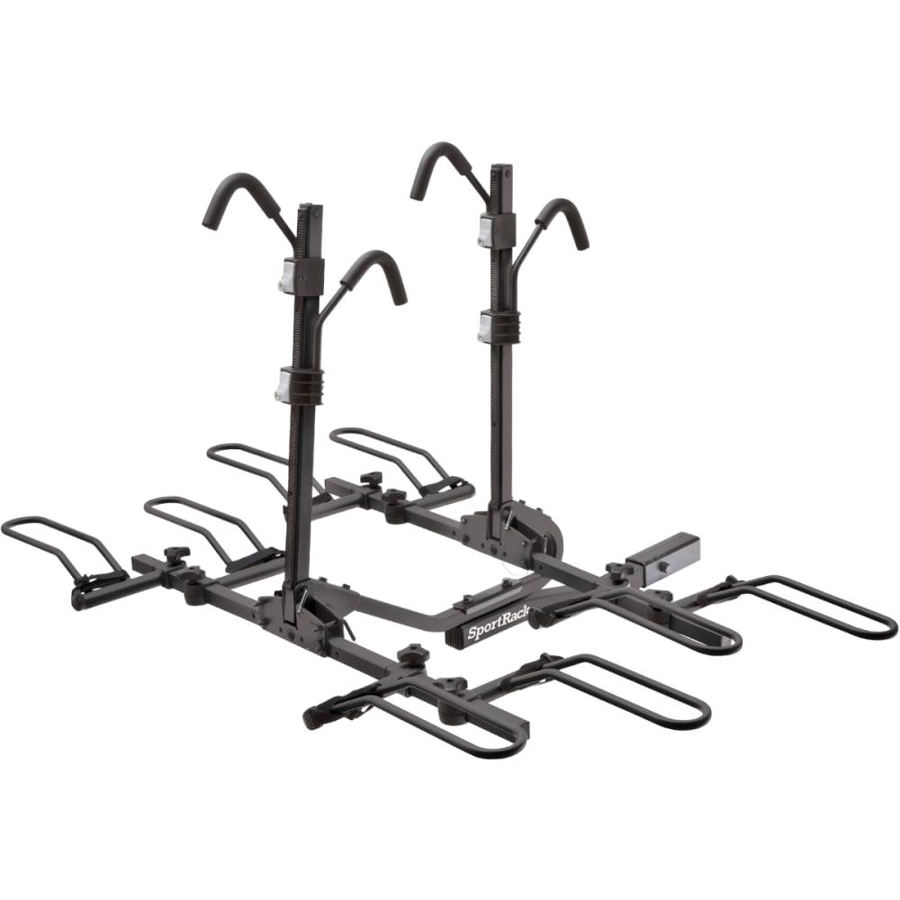 THULE Crest Deluxe 4 Locking Bike Rack - BLACK