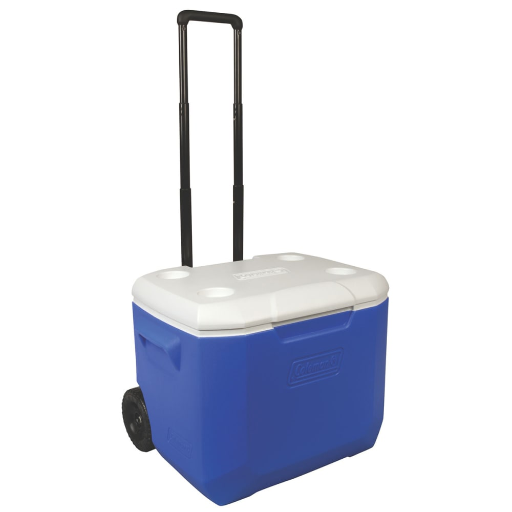 COLEMAN 60-Quart Performance Wheeled Cooler - BLUE