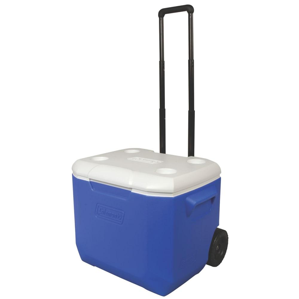 COLEMAN 60-Quart Performance Wheeled Cooler - BLUE