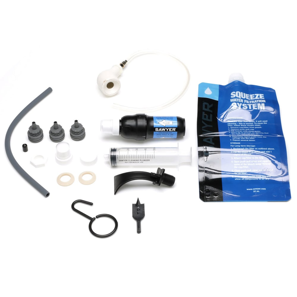 SAWYER All-In-One Water Filtration System - BLACK