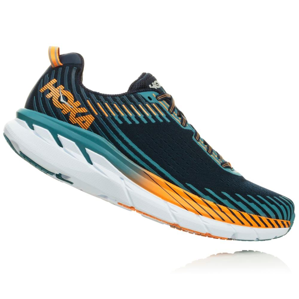HOKA ONE ONE Men's Clifton 5 Running Shoes - BLACK-BISB
