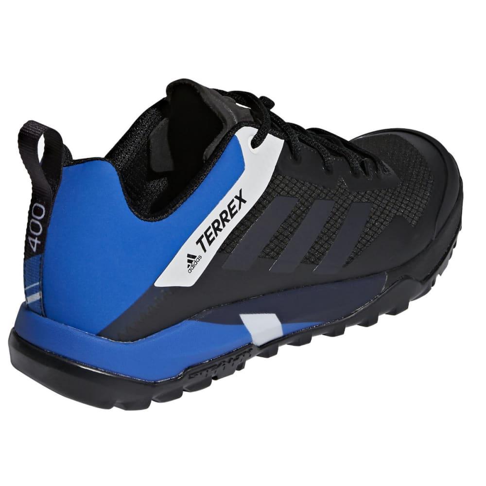 ADIDAS Men's Terrex Trail Cross SL Mountain Biking Shoes - BLACK/CARBON/BLUE B